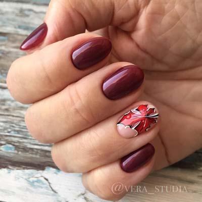 Σχέδια για φθινοπωρινά νύχια (9)