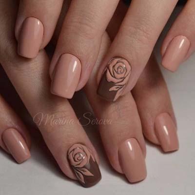 Σχέδια για φθινοπωρινά νύχια (46)