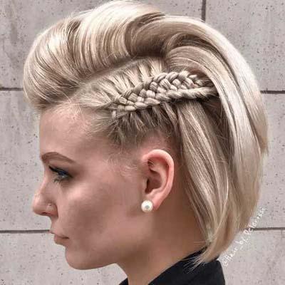 bb0a718d1780 Βραδυνά χτενίσματα για κοντά μαλλιά. Βραδυνά χτενίσματα (1)
