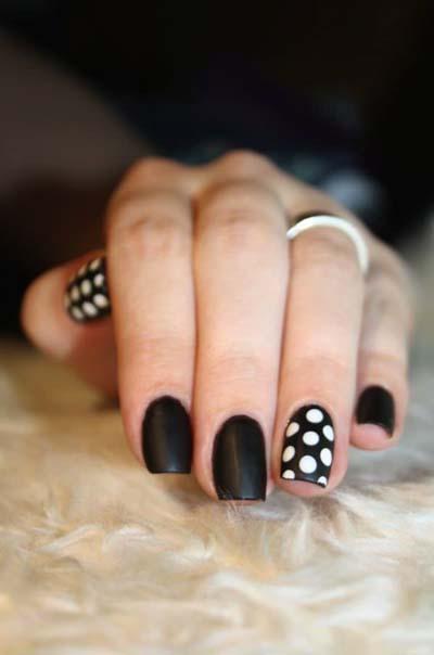 Ασπρόμαυρα σχέδια στα νύχια (35)