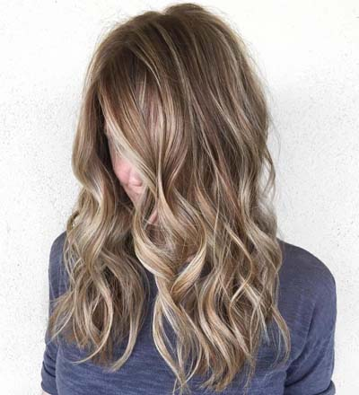 Ανταύγειες σε καστανά μαλλιά (3)