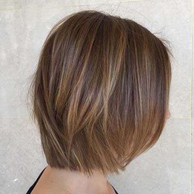 Ανταύγειες σε καστανά μαλλιά (4)