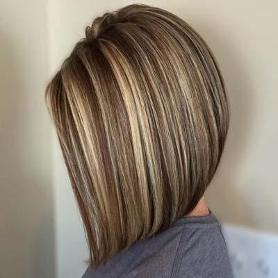 Ανταύγειες σε καστανά μαλλιά (8)
