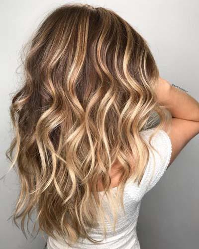 Ανταύγειες σε καστανά μαλλιά (9)