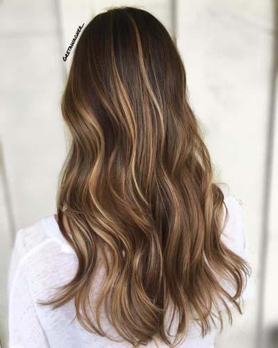 Ανταύγειες σε καστανά μαλλιά (10)