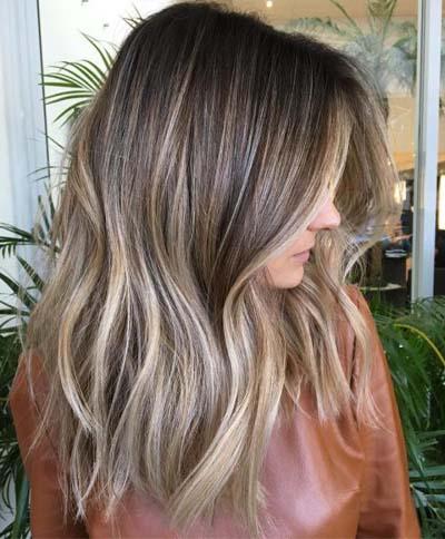Ανταύγειες σε καστανά μαλλιά (13)