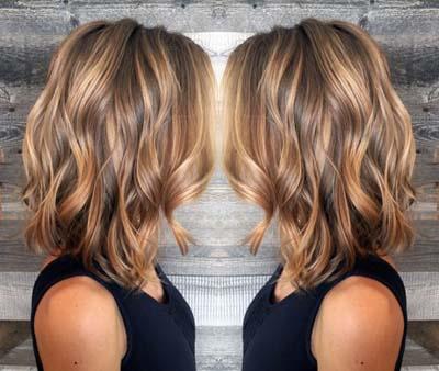 Ανταύγειες σε καστανά μαλλιά (16)