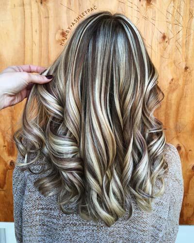 Ανταύγειες σε καστανά μαλλιά (19)