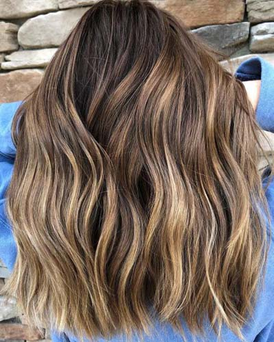 Ανταύγειες σε καστανά μαλλιά (20)