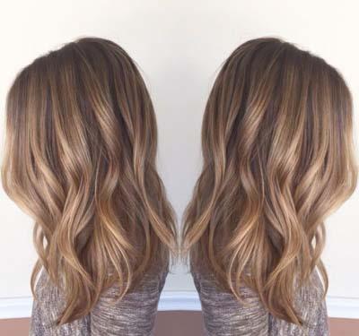 Ανταύγειες σε καστανά μαλλιά (21)