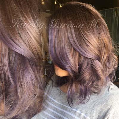 Ανταύγειες σε καστανά μαλλιά (22)
