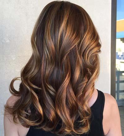 Ανταύγειες σε καστανά μαλλιά (27)