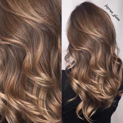 Ανταύγειες σε καστανά μαλλιά (28)
