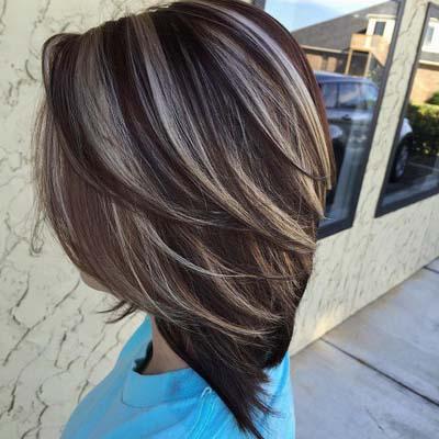 Ανταύγειες σε καστανά μαλλιά (31)
