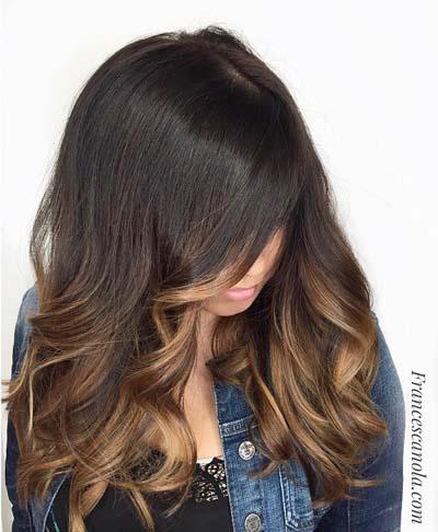 Ανταύγειες σε καστανά μαλλιά (35)