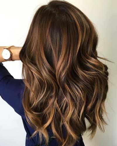 Ανταύγειες σε καστανά μαλλιά (36)
