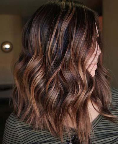 Ανταύγειες σε καστανά μαλλιά (39)