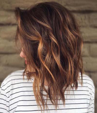 Ανταύγειες σε καστανά μαλλιά (44)