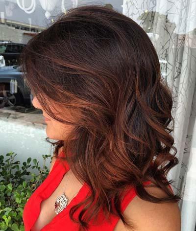 Ανταύγειες σε καστανά μαλλιά (47)