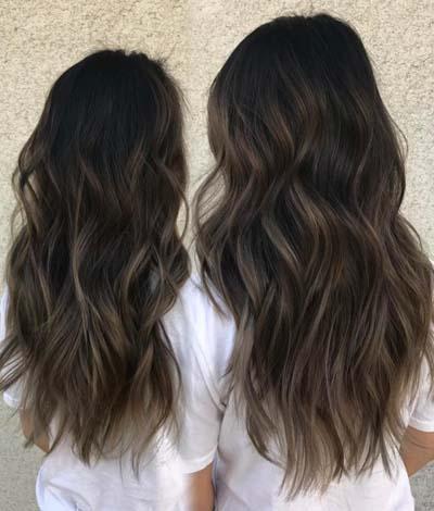 Ανταύγειες σε καστανά μαλλιά (48)
