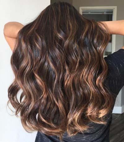 Ανταύγειες σε καστανά μαλλιά (49)