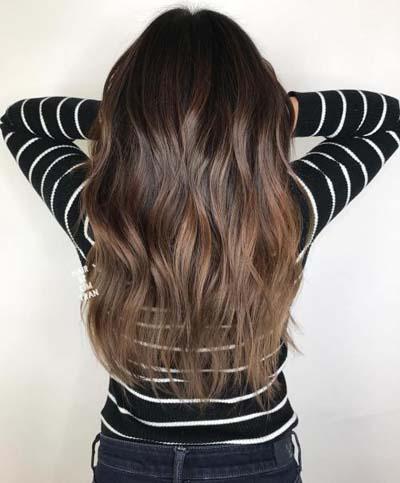 Ανταύγειες σε καστανά μαλλιά (50)