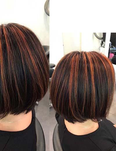 Ανταύγειες σε καστανά μαλλιά (53)