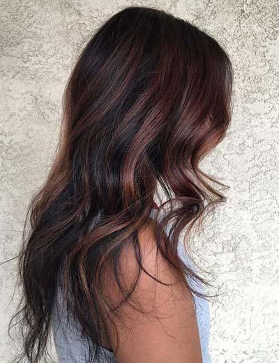 Ανταύγειες σε καστανά μαλλιά (55)