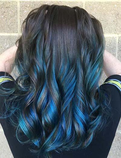 Ανταύγειες σε καστανά μαλλιά (56)