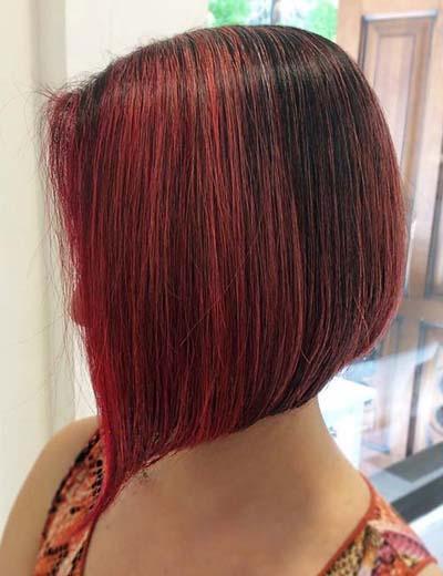 Ανταύγειες σε καστανά μαλλιά (57)