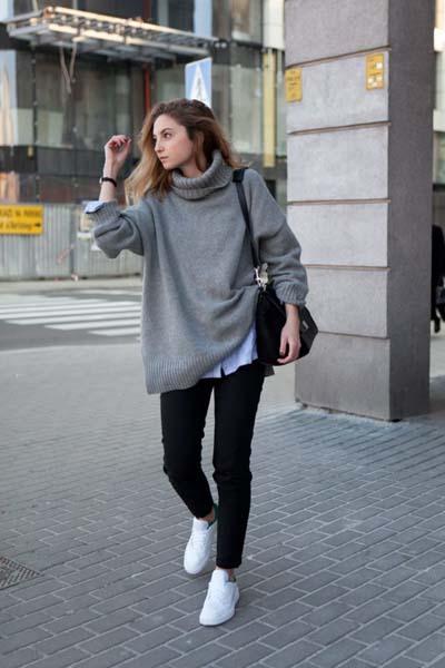 9a9dfaa5cc70 Γυναικείο πουλόβερ  35 φανταστικοί συνδυασμοί για να ξεχωρίσετε ...