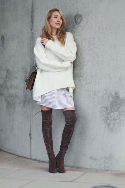 8a832a8d3e9a Γυναικείο πουλόβερ  35 φανταστικοί συνδυασμοί για να ξεχωρίσετε ...