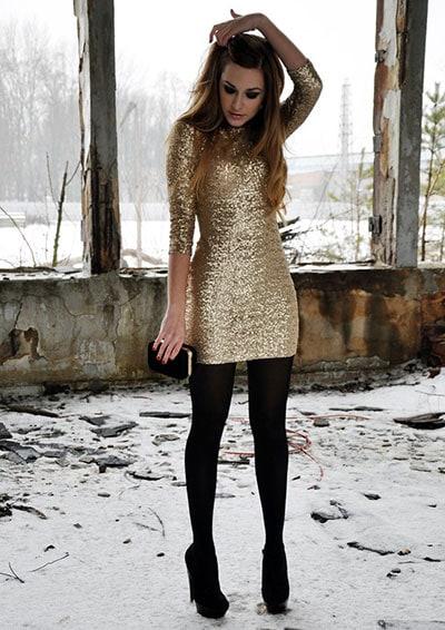 Φόρεμα με παγιέτες (2)