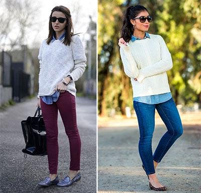 eab00de55982 40 εντυπωσιακοί συνδυασμοί με τζιν πουκάμισο