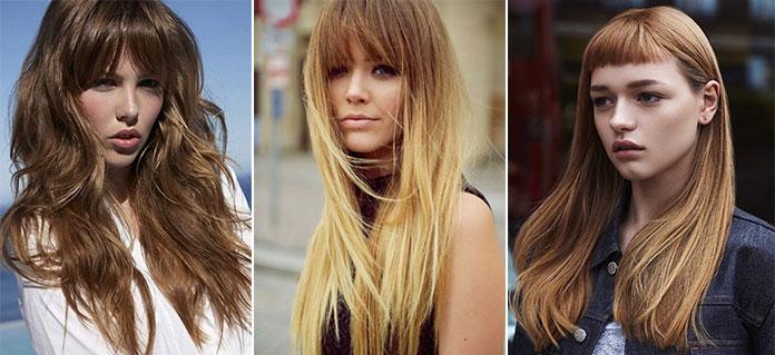 Μακριά μαλλιά με αφέλειες. Γυναικεία κουρέματα 2019 (9) 1b5d94907b6