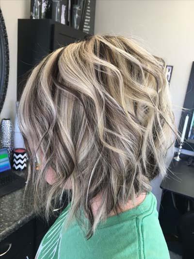 Ξανθά μαλλιά με ανταύγειες (3)