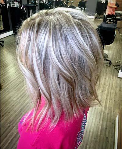 Ξανθά μαλλιά με ανταύγειες (4)