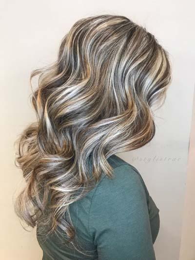 Ξανθά μαλλιά με ανταύγειες (6)