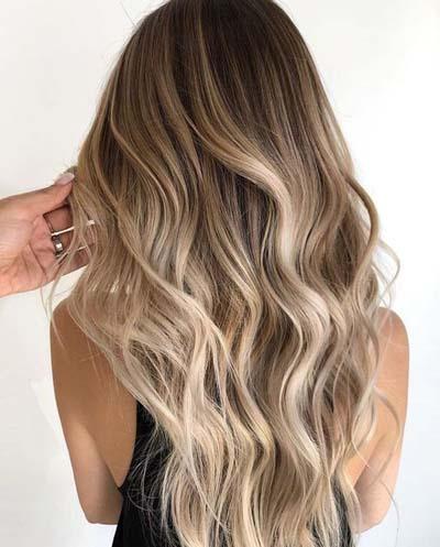 Ξανθά μαλλιά με ανταύγειες (12)