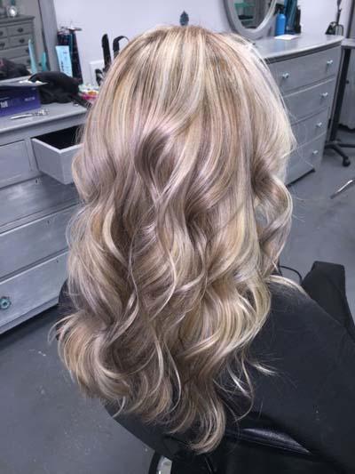 Ξανθά μαλλιά με ανταύγειες (17)