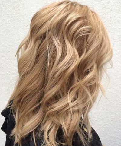 Ξανθά μαλλιά με ανταύγειες (25)