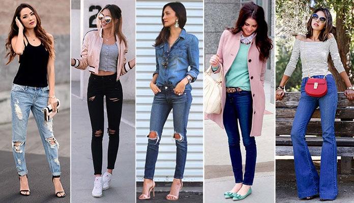 8ee7331e7aa9 60 τέλειοι συνδυασμοί με τζιν παντελόνι για καθημερινό ή βραδινό ντύσιμο