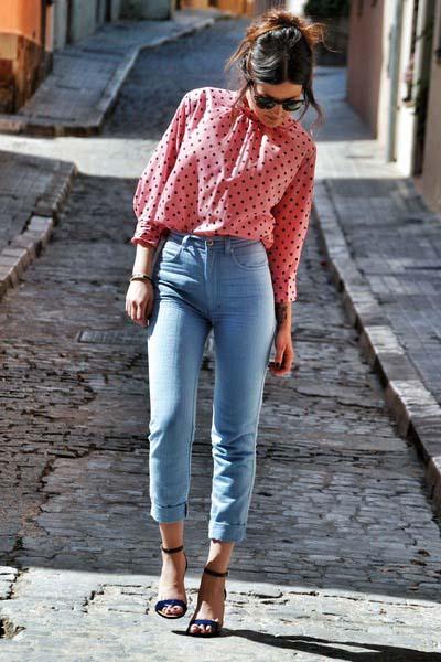 Συνδυασμοί ρούχων με τζιν παντελόνι για εντυπωσιακά ντυσίματα (11)