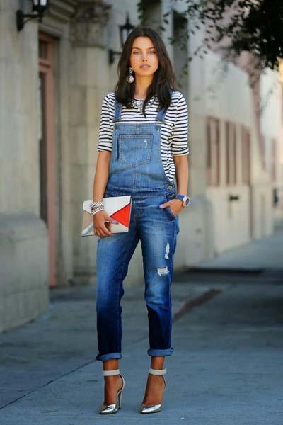 Συνδυασμοί ρούχων με τζιν παντελόνι για εντυπωσιακά ντυσίματα (15)