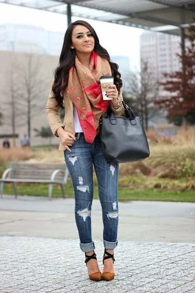 Συνδυασμοί ρούχων με τζιν παντελόνι για εντυπωσιακά ντυσίματα (21)
