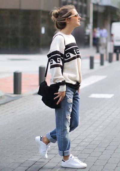 Συνδυασμοί ρούχων με τζιν παντελόνι για εντυπωσιακά ντυσίματα (32)