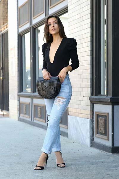 Συνδυασμοί ρούχων με τζιν παντελόνι για εντυπωσιακά ντυσίματα (54)