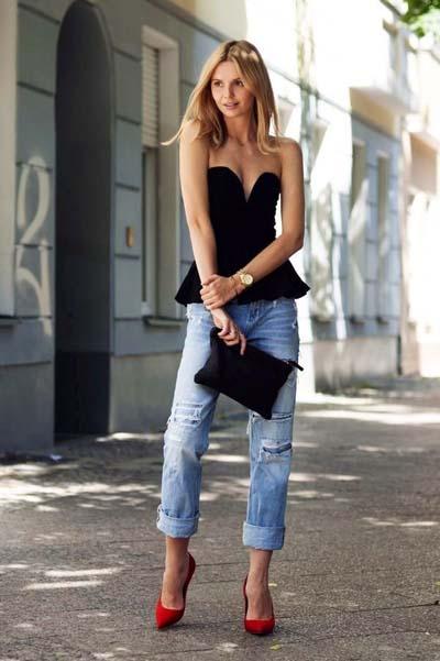 Συνδυασμοί ρούχων με τζιν παντελόνι για εντυπωσιακά ντυσίματα (56)