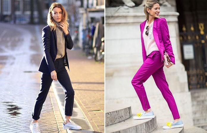 Πως να φορέσετε ένα γυναικείο κοστούμι  Κομψοί συνδυασμοί για κάθε στυλ 23aff1018d0