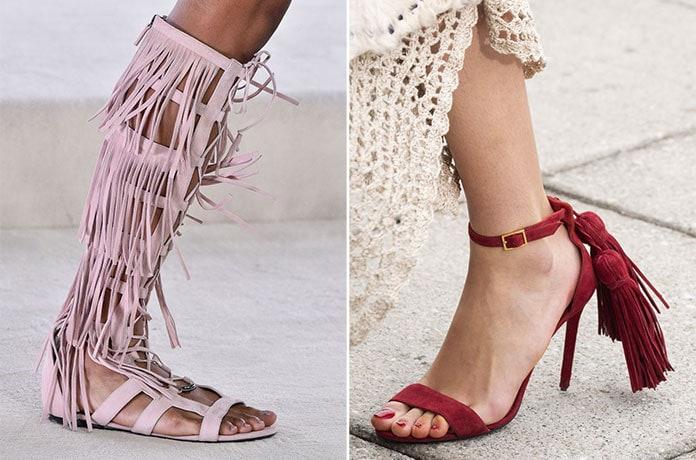 dd308c0426 Παπούτσια Άνοιξη   Καλοκαίρι 2019  Τα κορυφαία σχέδια και χρώματα